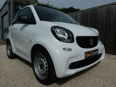 smart forTwo 1.0i Passion CRUISE/CLIMA NETTO: 9.082 EURO bei B&D Cars (EN) in 8791 Beveren-Leie